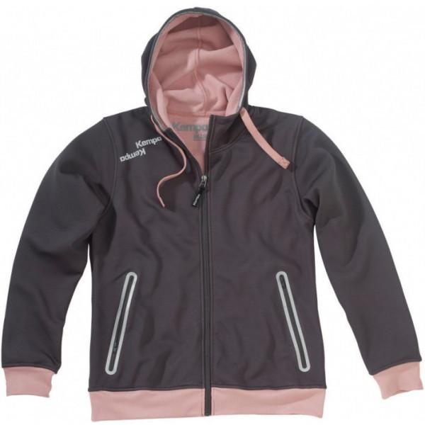 Kempa blue hoody jacket women
