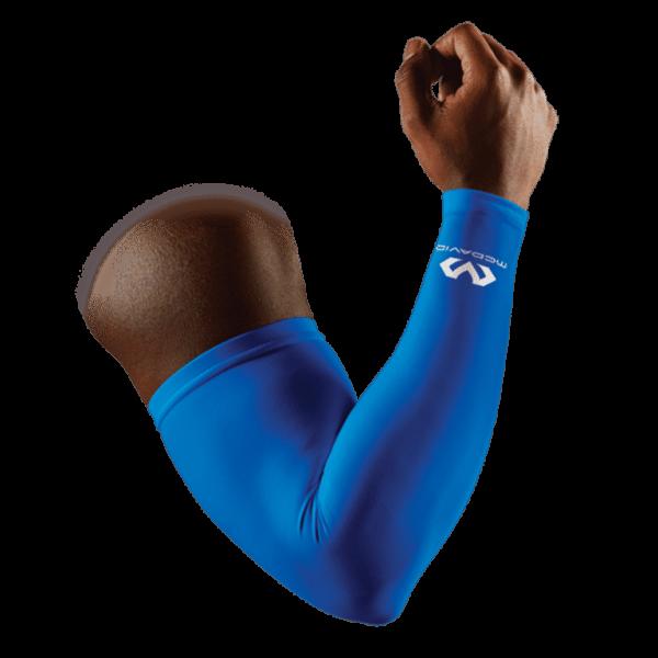 Manguitos Compressão McDavid Azul (Par)